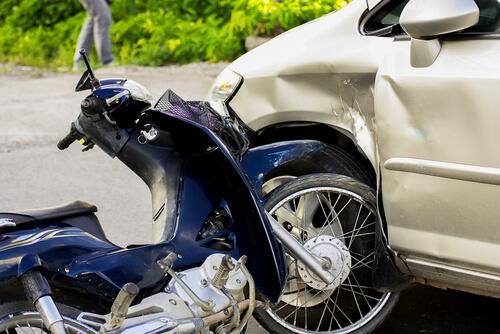 West Virginia motorbike accident