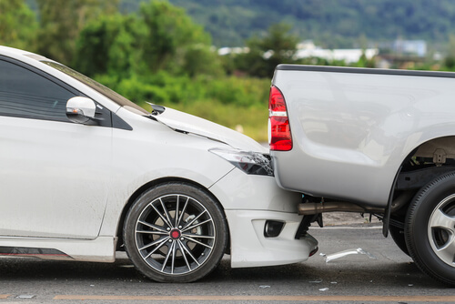 Rear End Car Accident in Parkersburg West Virginia