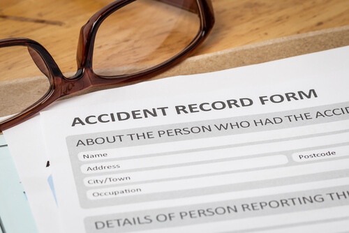 Car accident police report in Parkersburg West Virginia