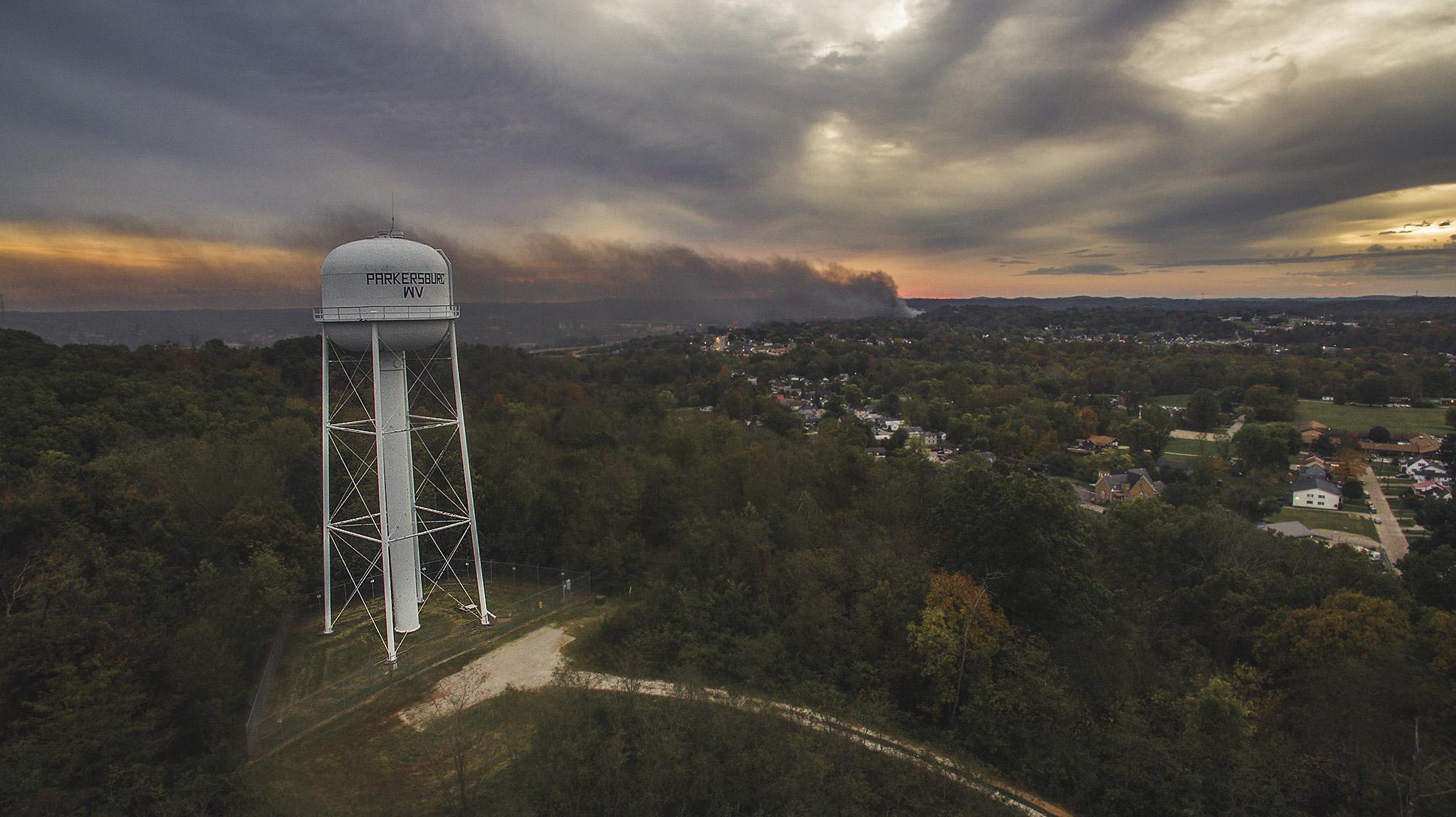 Parkersburg, WV Ames Plant Fire