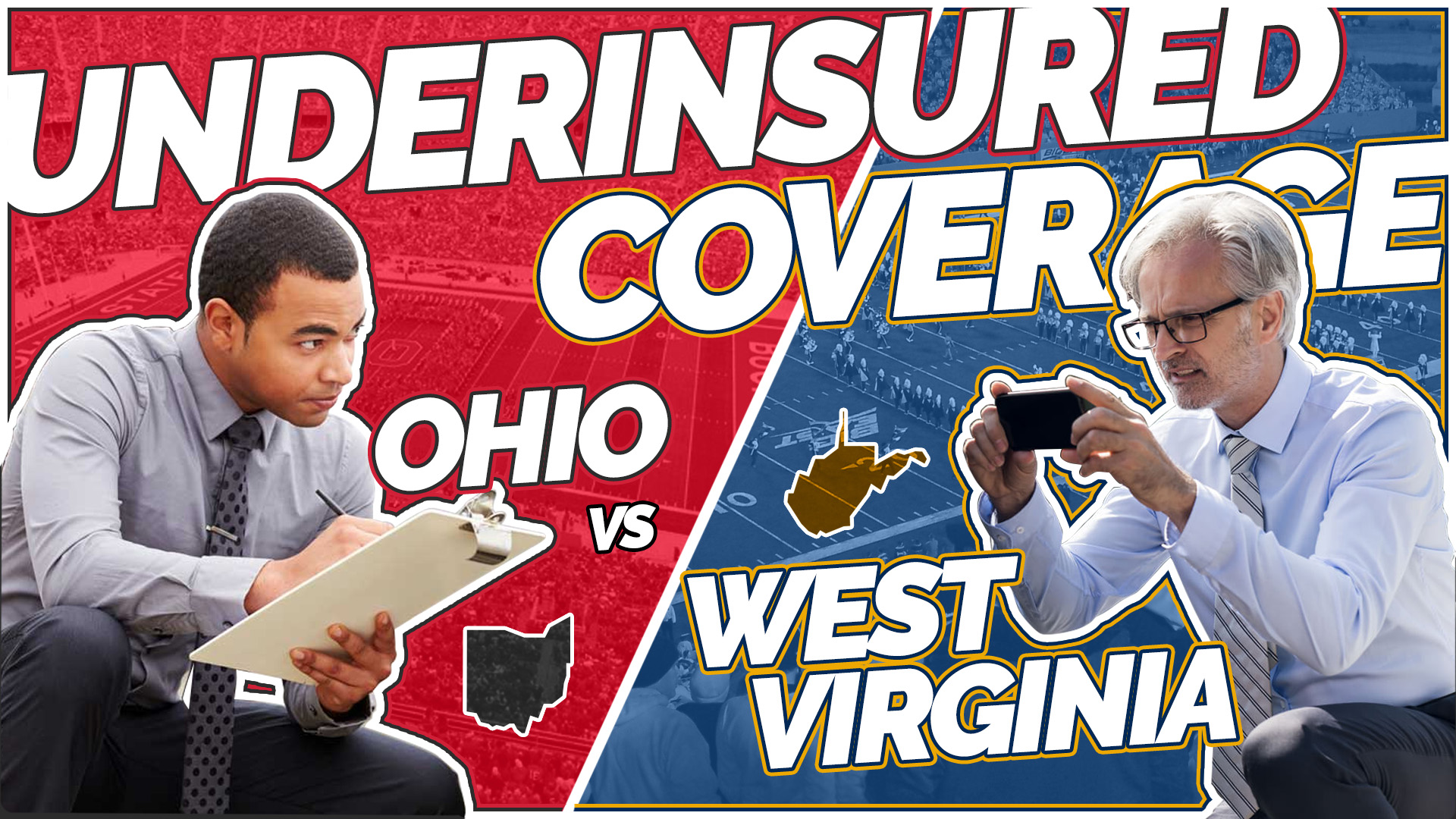 Underinsured Coverage in Ohio vs West Virginia